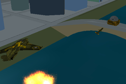 Screenshot 3D Jet Fighter