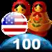 Learn 100 Russian words in 2 hours